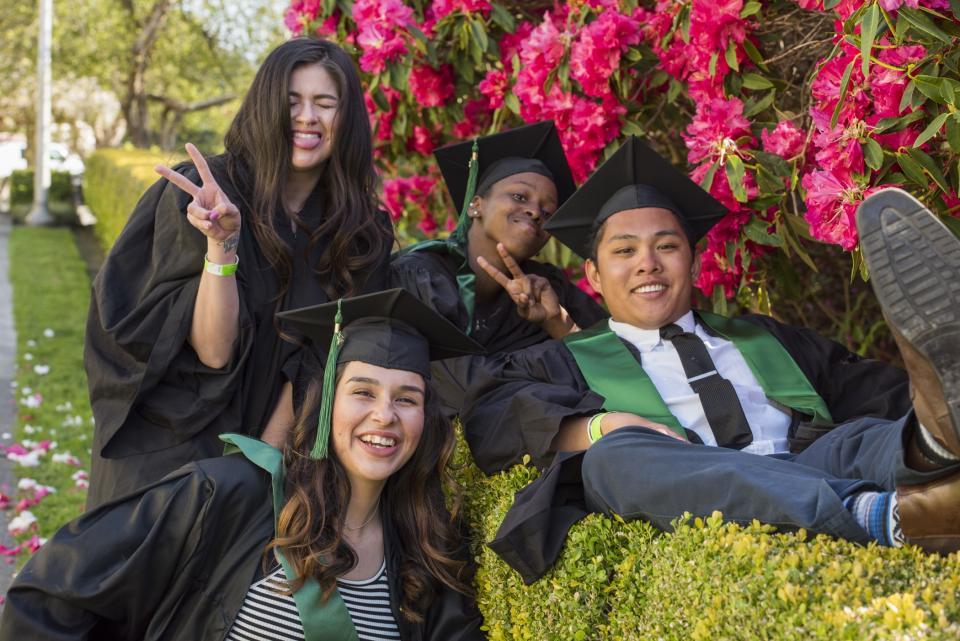 E Club Student Grads